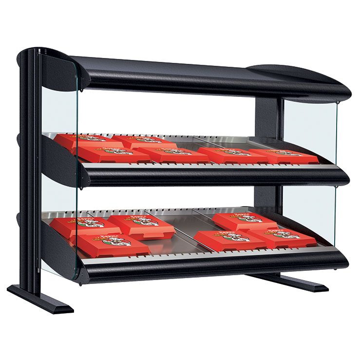 Hatco HXMS-42D display merchandiser, heated, for multi-product
