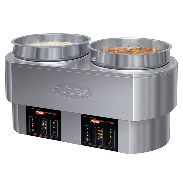Hatco RHW-2 food pan warmer/cooker, countertop