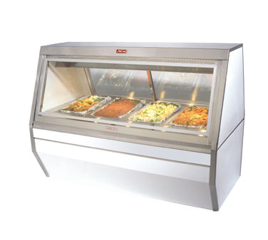 Howard-McCray CHS35-4-BE display case, heated deli, floor model