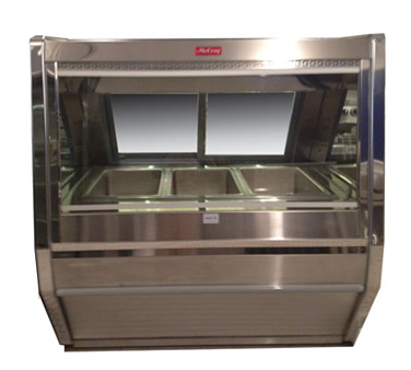 Howard-McCray CHS40E-4 display case, heated deli, floor model
