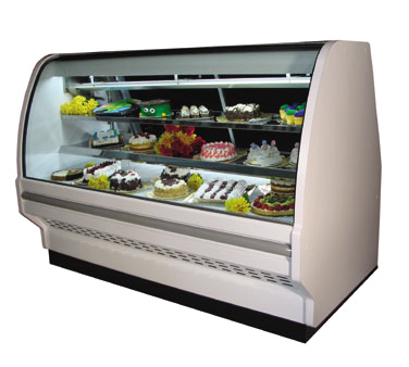 Howard-McCray D-CBS40E-4C-LED display case, non-refrigerated bakery