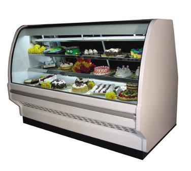 Howard-McCray D-CBS40E-8C-LED display case, non-refrigerated bakery