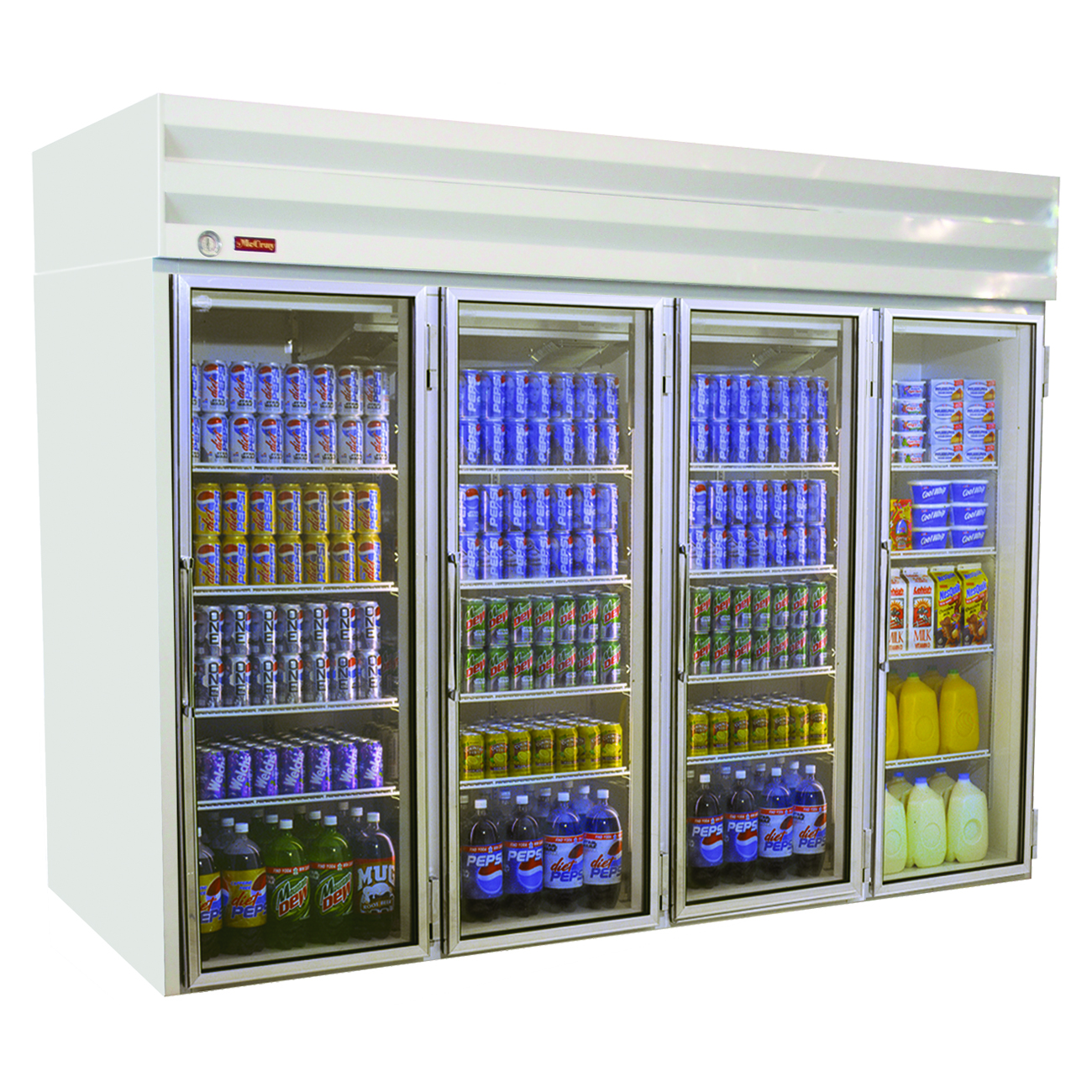 Howard-McCray GF102-FF-B freezer, merchandiser