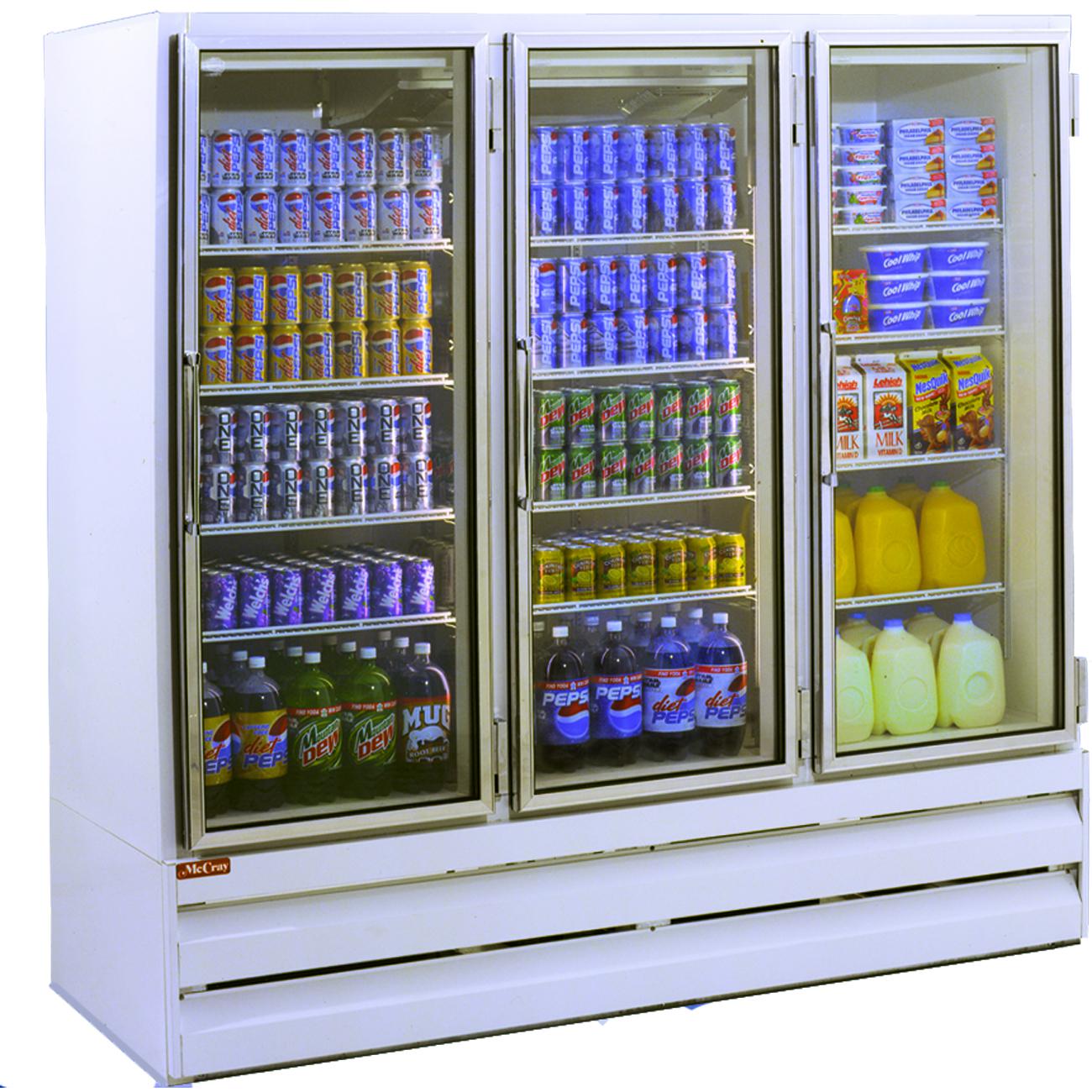 Howard-McCray GF75BM-LT freezer, merchandiser