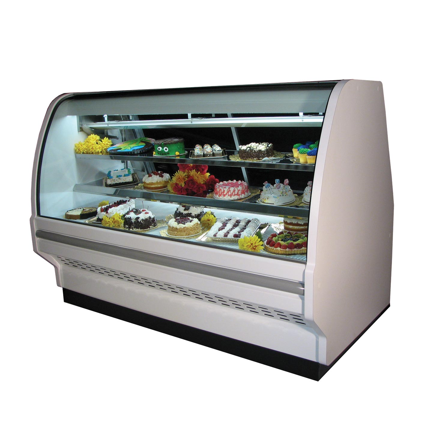 Howard-McCray R-CBS40E-4C-BE-LED display case, refrigerated bakery