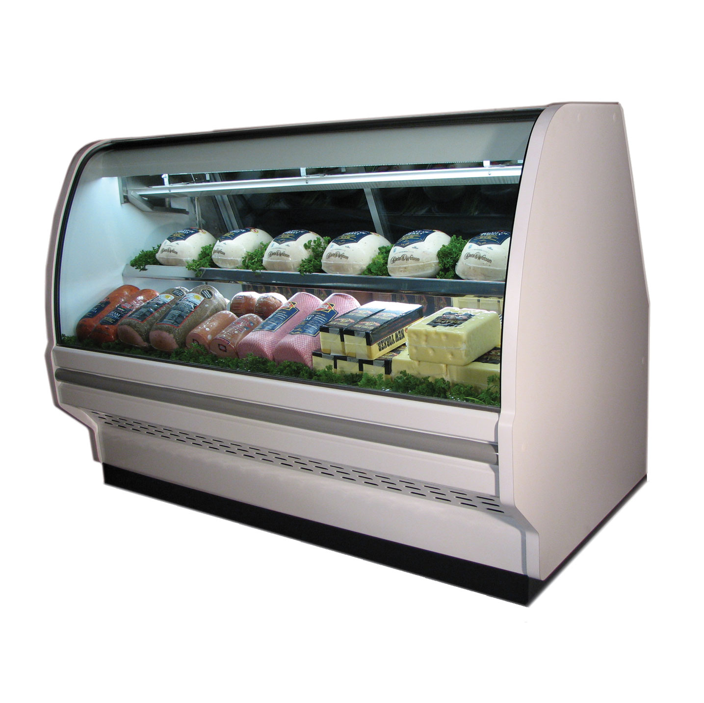 Howard-McCray R-CDS40E-4C-BE-LED display case, refrigerated deli