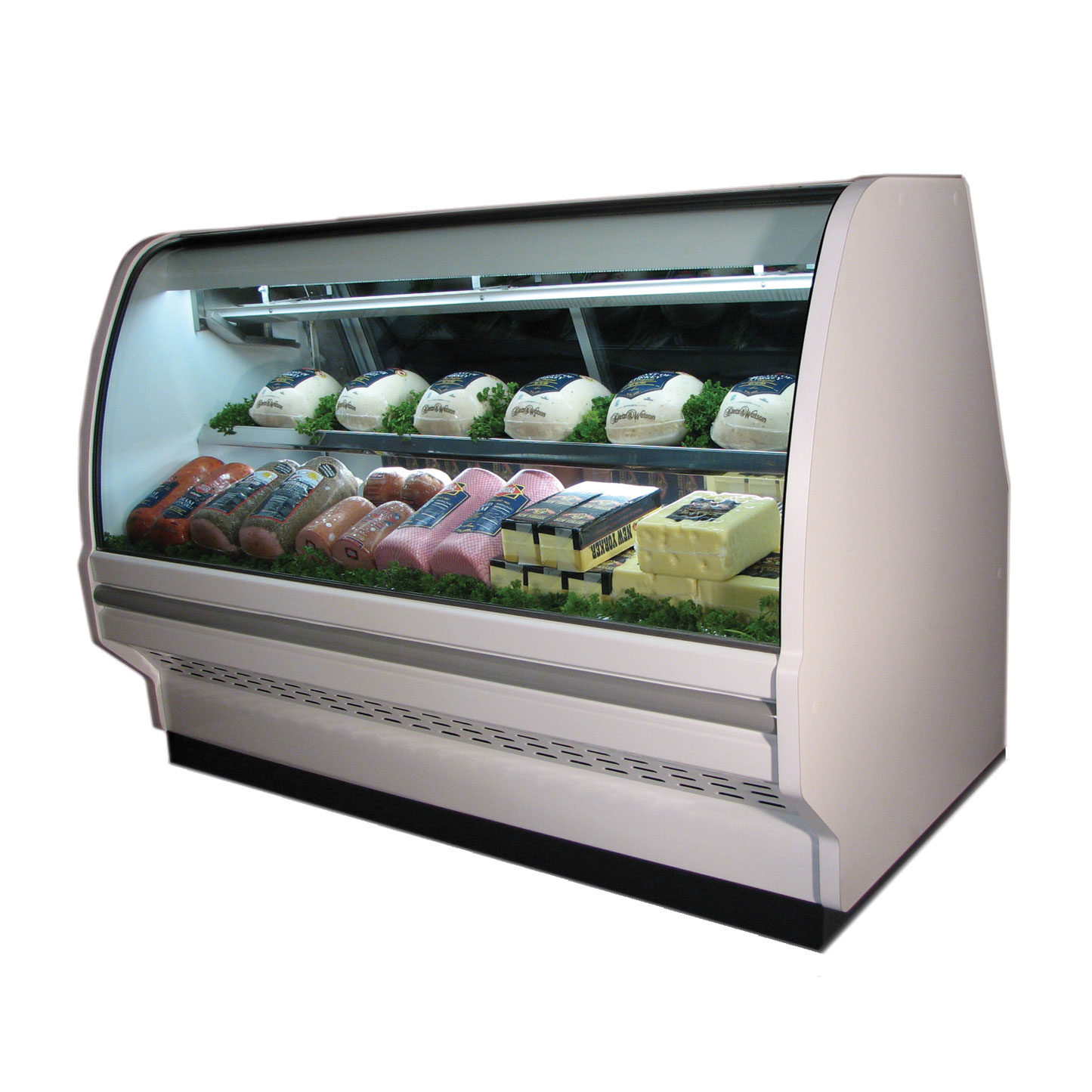 Howard-McCray R-CDS40E-4C-S-LED display case, refrigerated deli