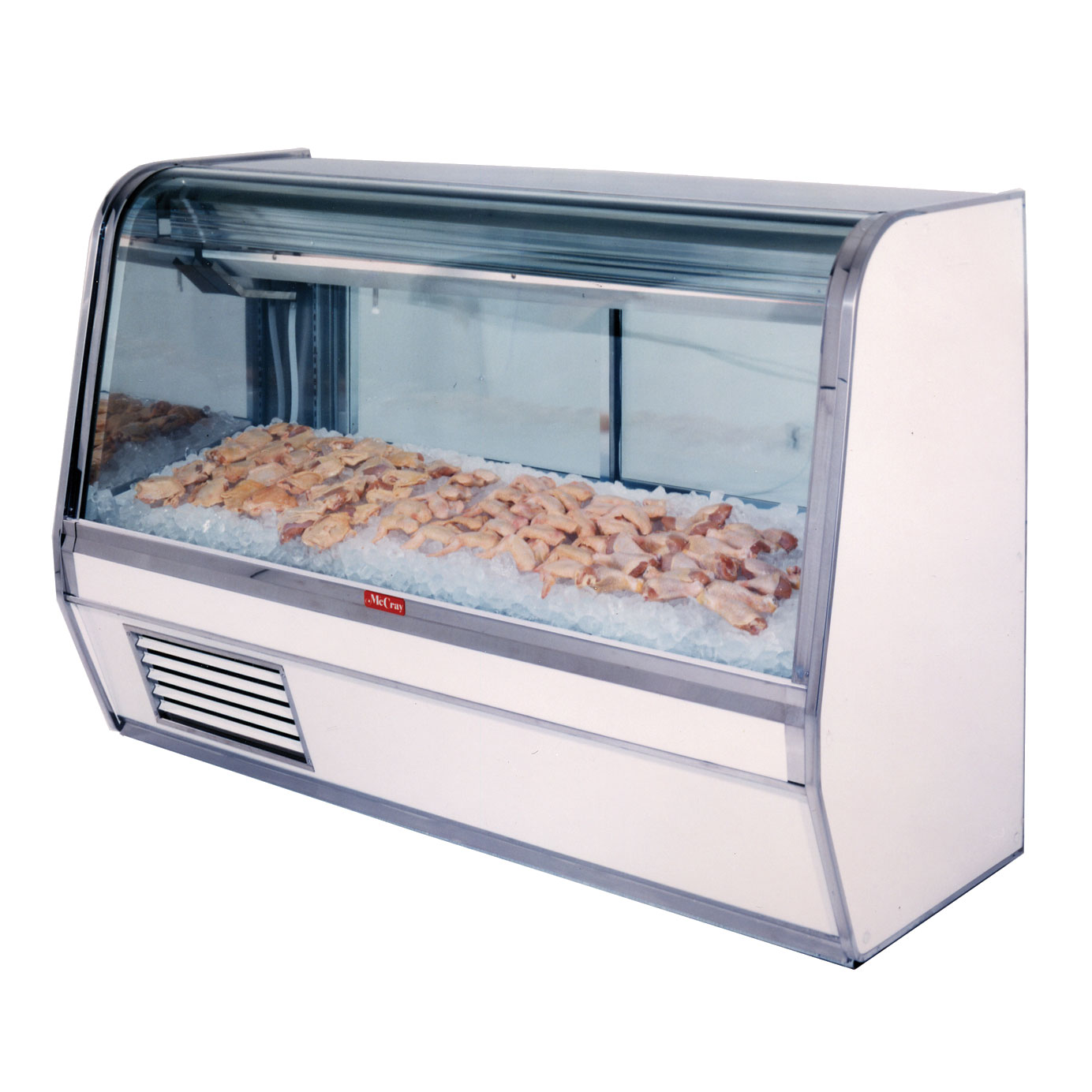 Howard-McCray R-CFS32E-4C-S-LED display case, deli seafood / poultry