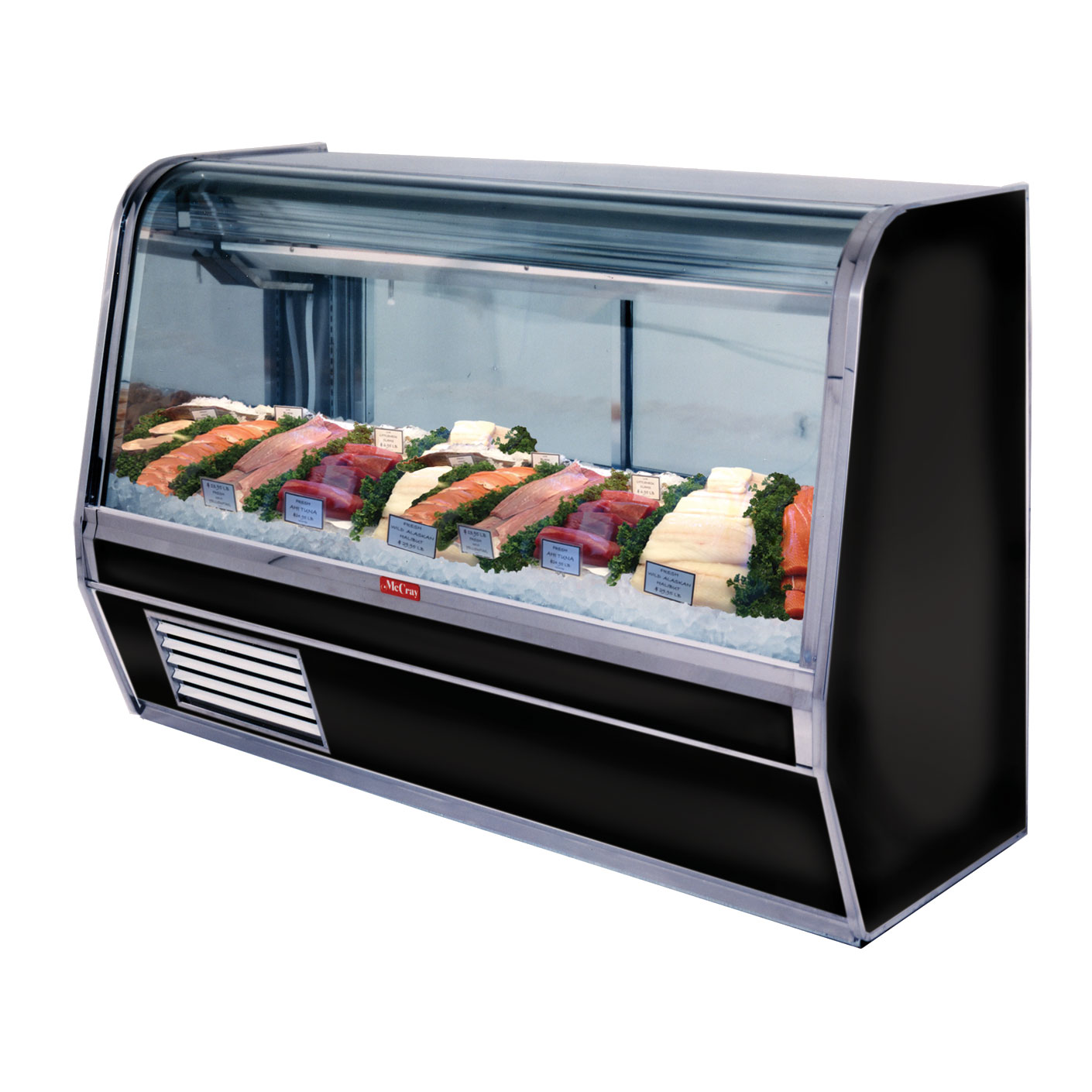 Howard-McCray R-CFS32E-6C-S-LED display case, deli seafood / poultry