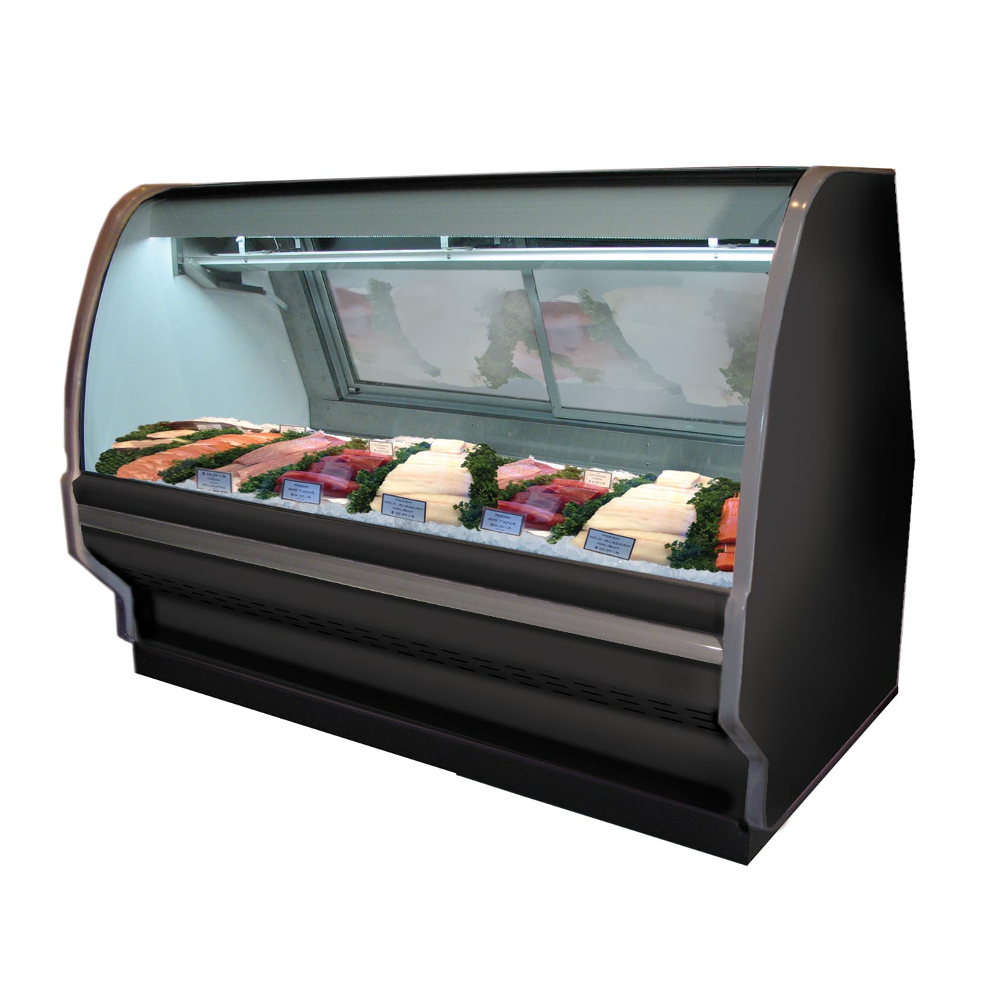 Howard-McCray R-CFS40E-8-S-LED display case, deli seafood / poultry