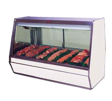 Howard-McCray R-CMS32E-6-BE-LED display case, red meat deli