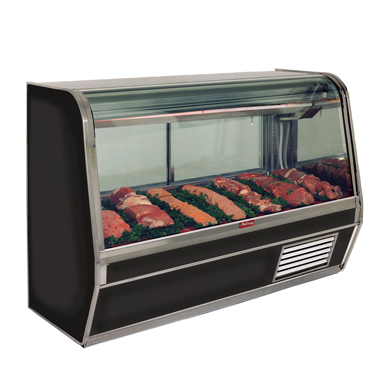 Howard-McCray R-CMS32E-6C-LED display case, red meat deli