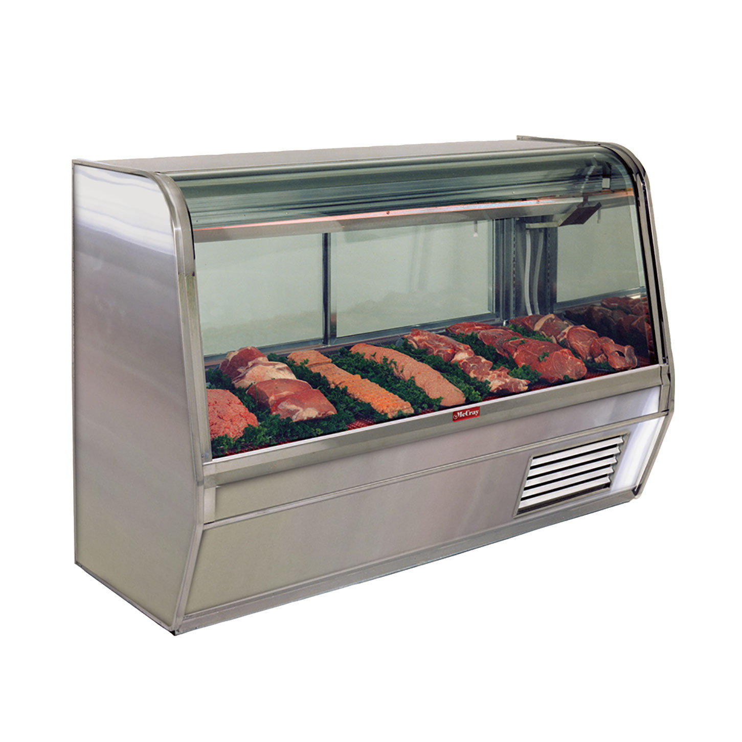 Howard-McCray R-CMS32E-8-S-LED display case, red meat deli