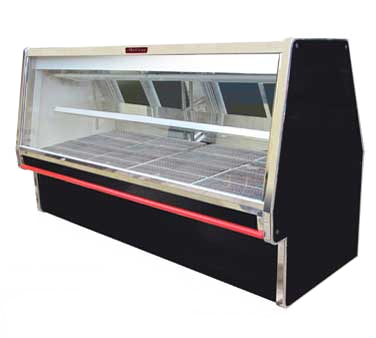 Howard-McCray R-CMS34E-4-BE-LED display case, red meat deli