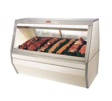 Howard-McCray R-CMS35-8-LED display case, red meat deli