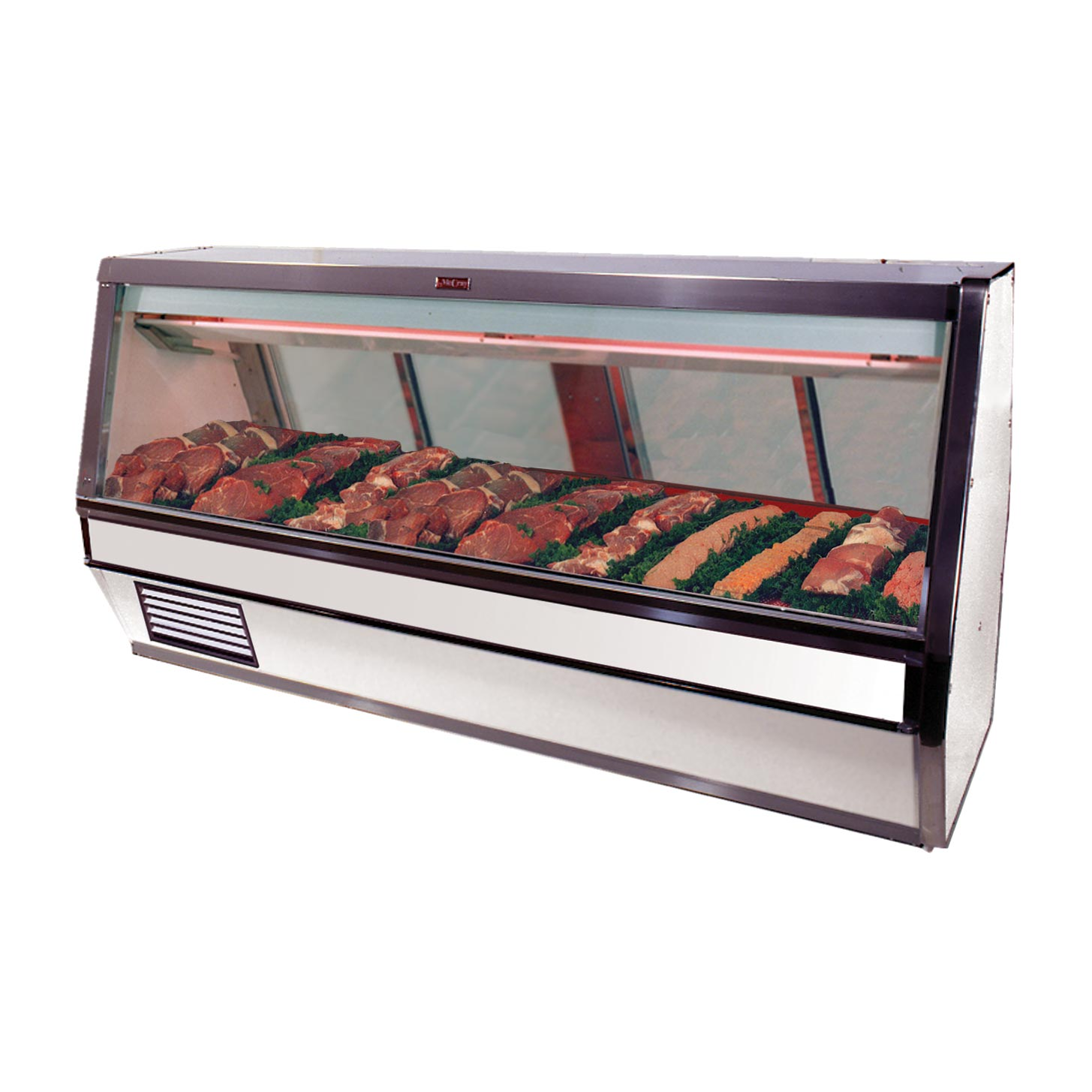 Howard-McCray R-CMS40E-12-S-LED display case, red meat deli