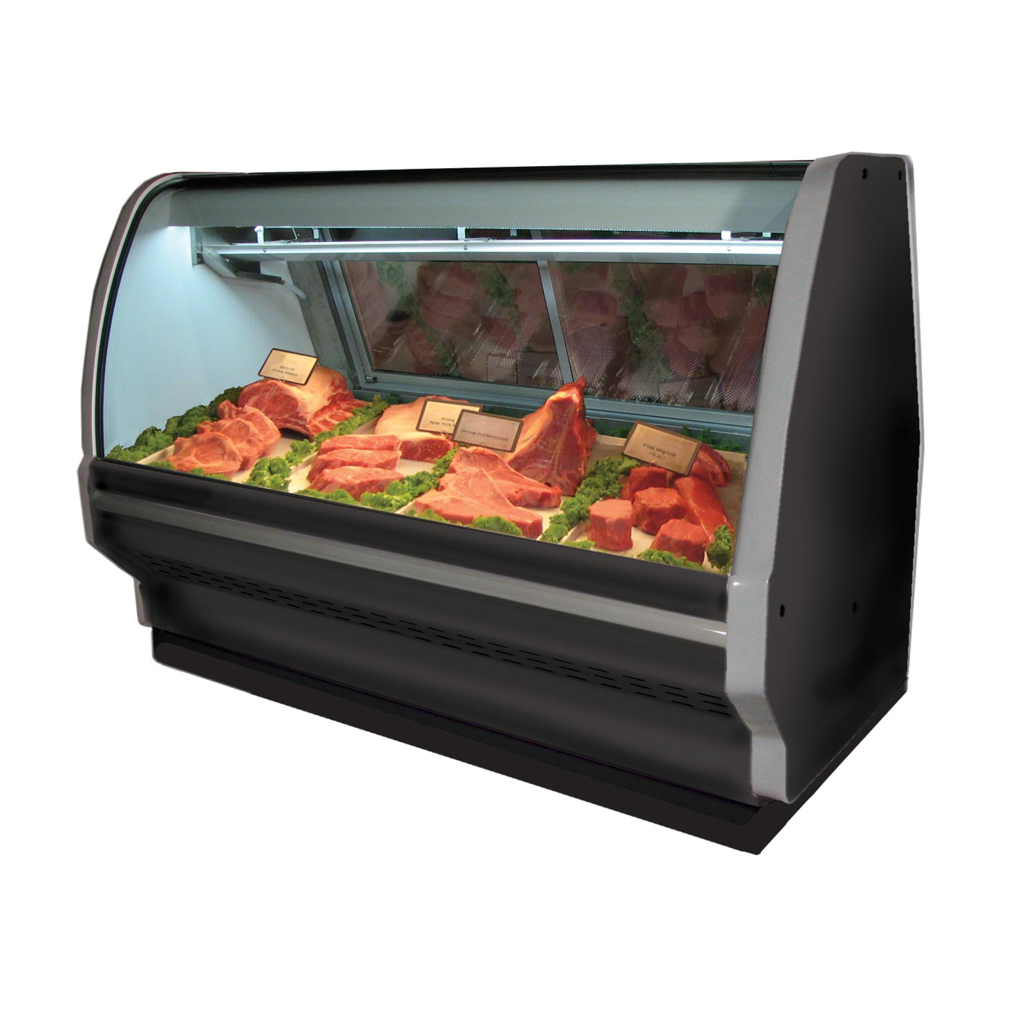 Howard-McCray R-CMS40E-4C-BE-LED display case, red meat deli
