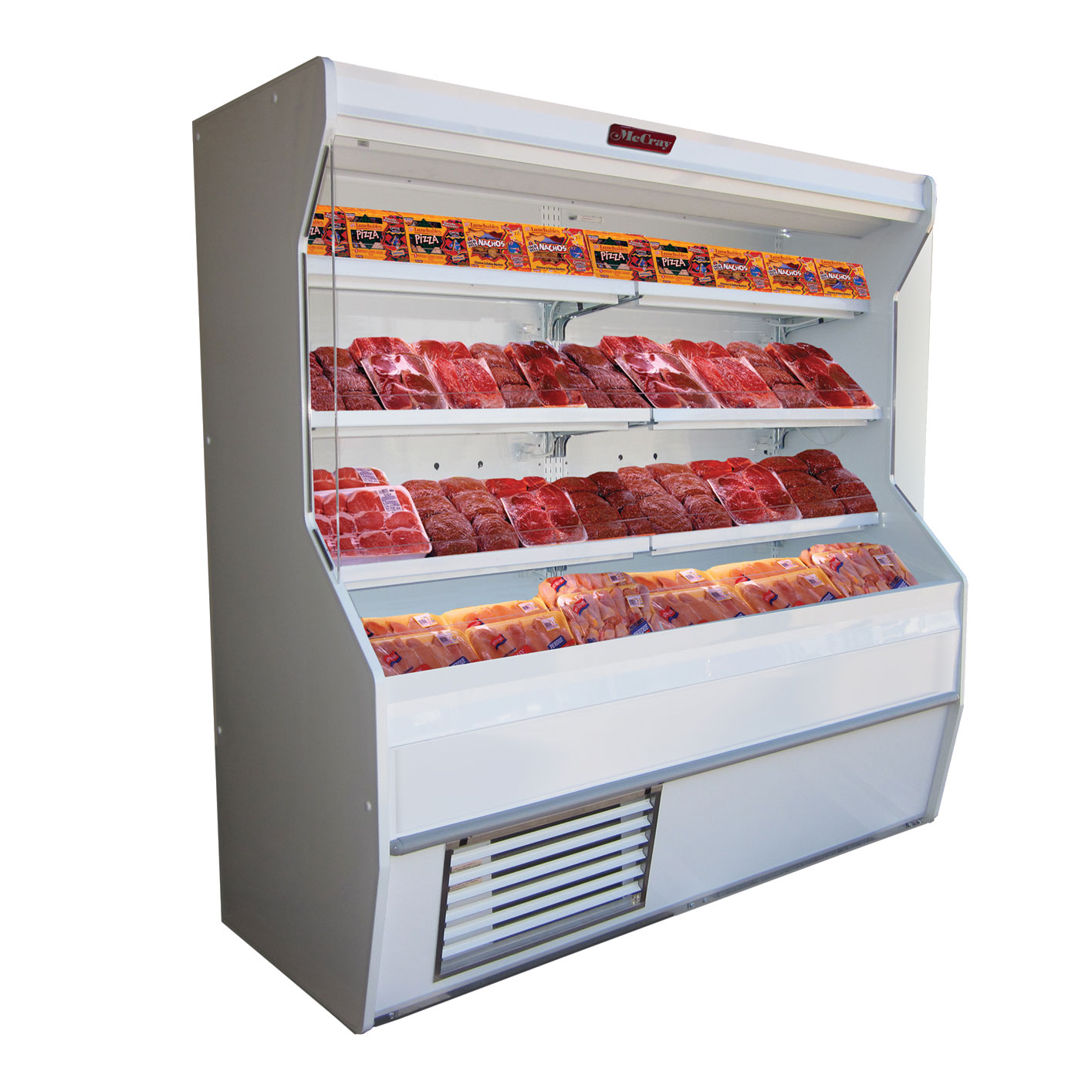 Howard-McCray R-M32E-12-LED merchandiser, open refrigerated display