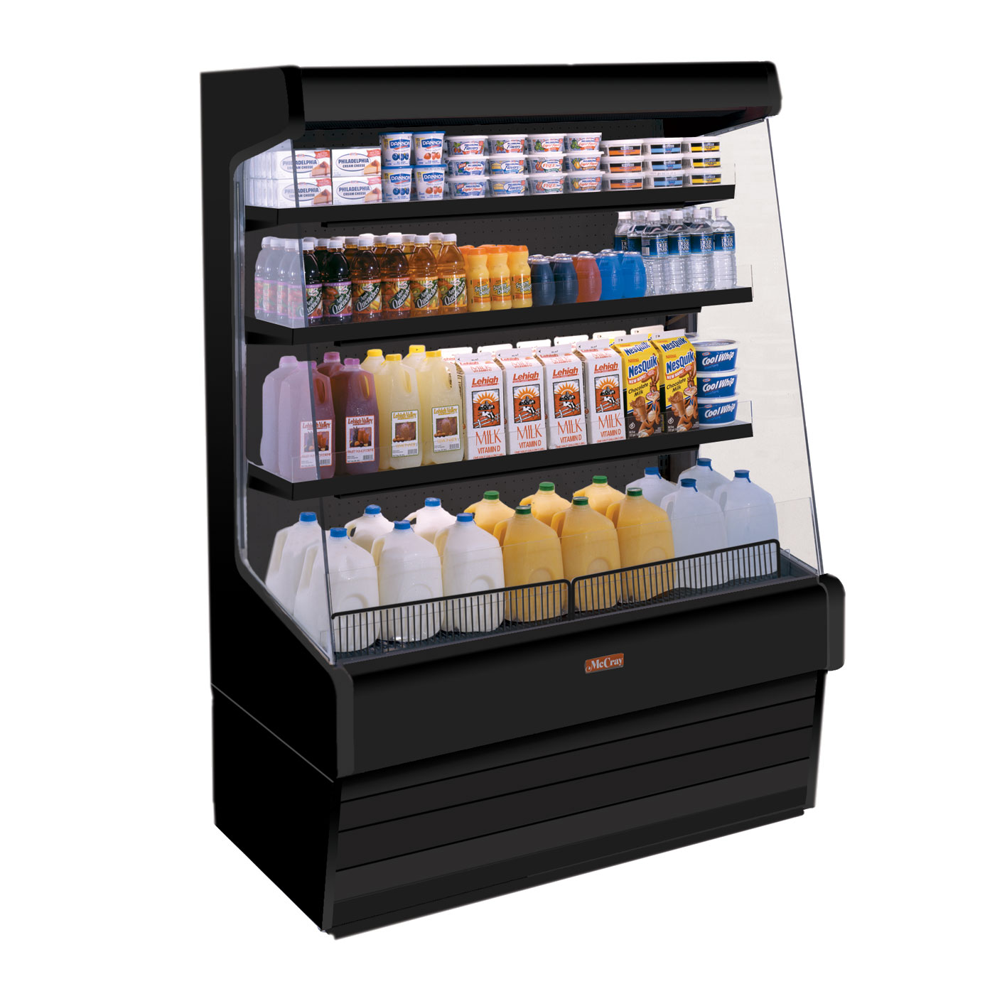 Howard-McCray R-OD30E-8-B-LED merchandiser, open refrigerated display
