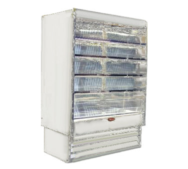 Howard-McCray R-OD35E-6L-LED merchandiser, open refrigerated display