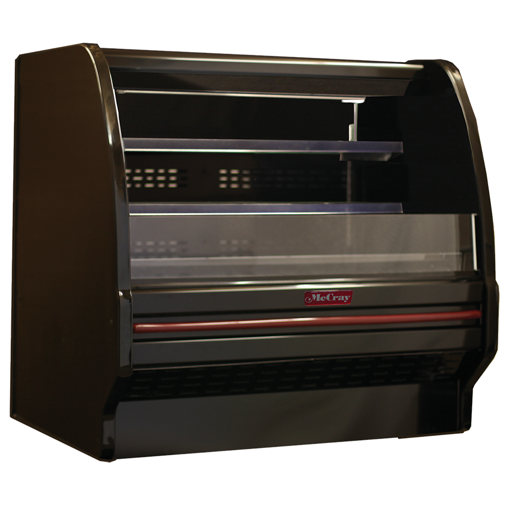 Howard-McCray R-OD40E-6L-B-LED merchandiser, open refrigerated display