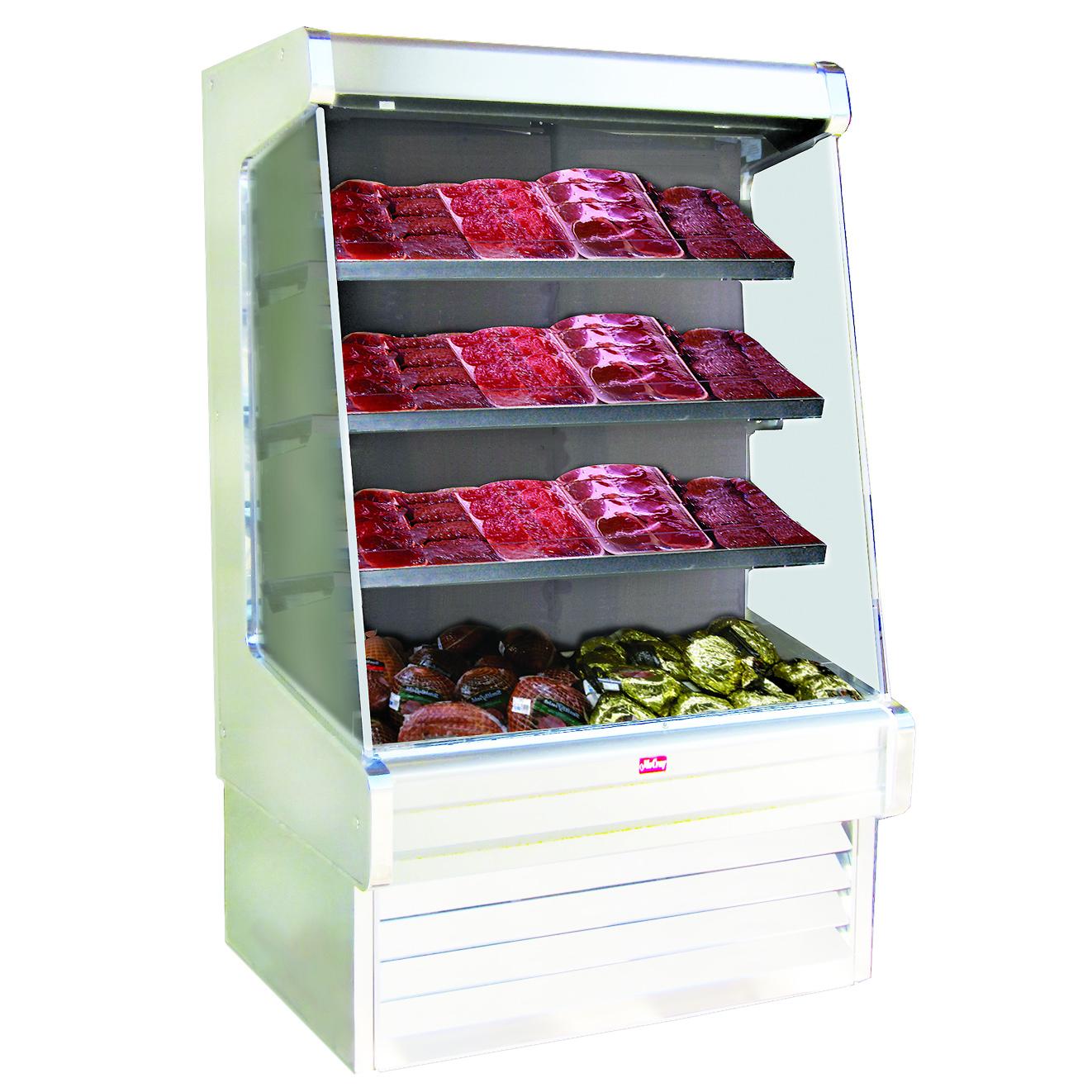 Howard-McCray R-OM30E-12-LED merchandiser, open refrigerated display