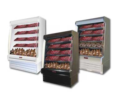 Howard-McCray R-OM35E-12S-S-LED merchandiser, open refrigerated display