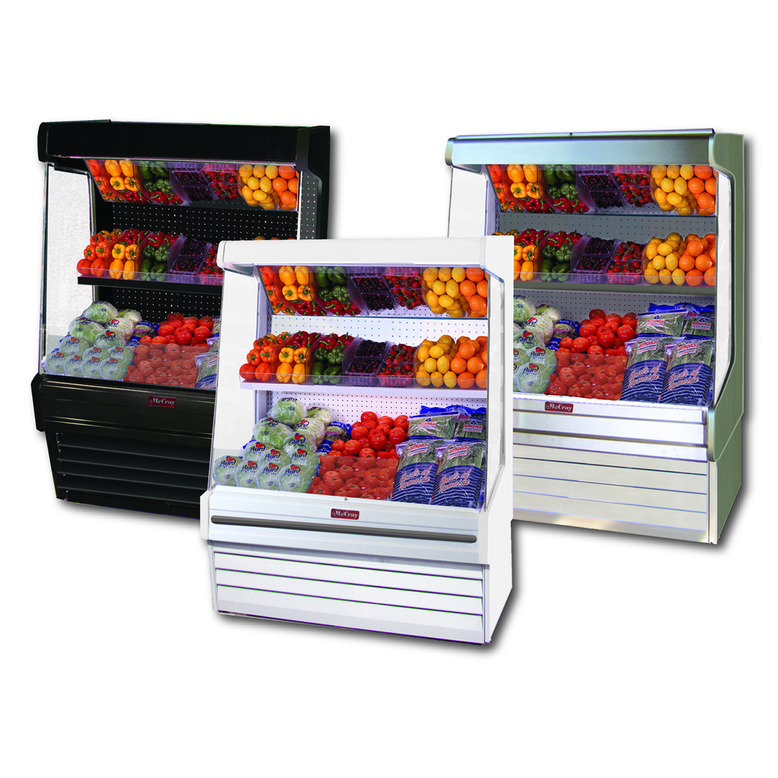 Howard-McCray R-OP30E-3-B-LED display case, produce
