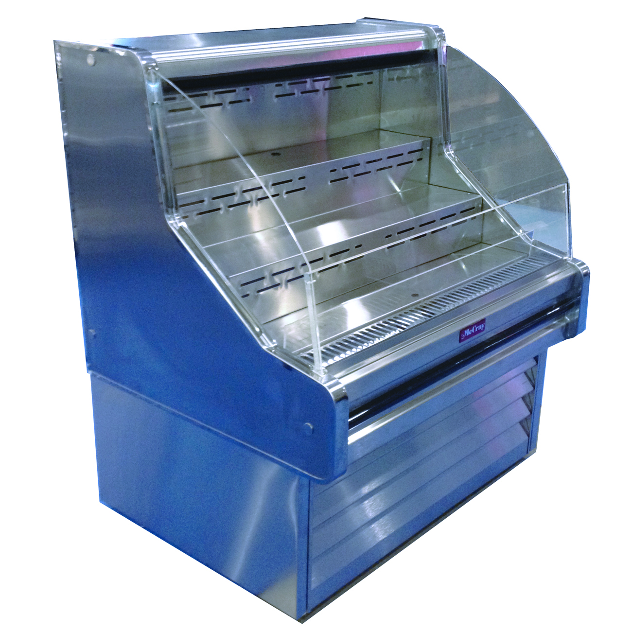 Howard-McCray R-OS30E-6C-S-LED merchandiser, open refrigerated display