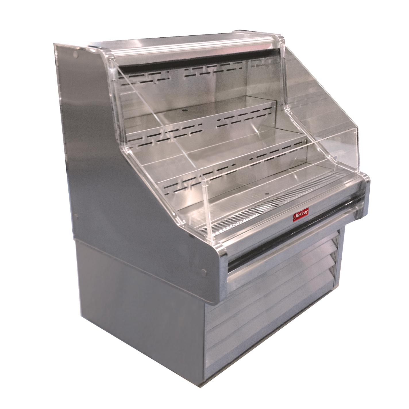 Howard-McCray R-OS35E-5-LED merchandiser, open refrigerated display