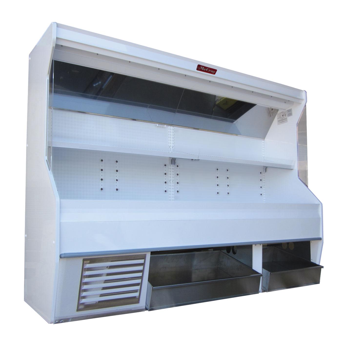 Howard-McCray R-P32E-4S-BINS-LED display case, produce