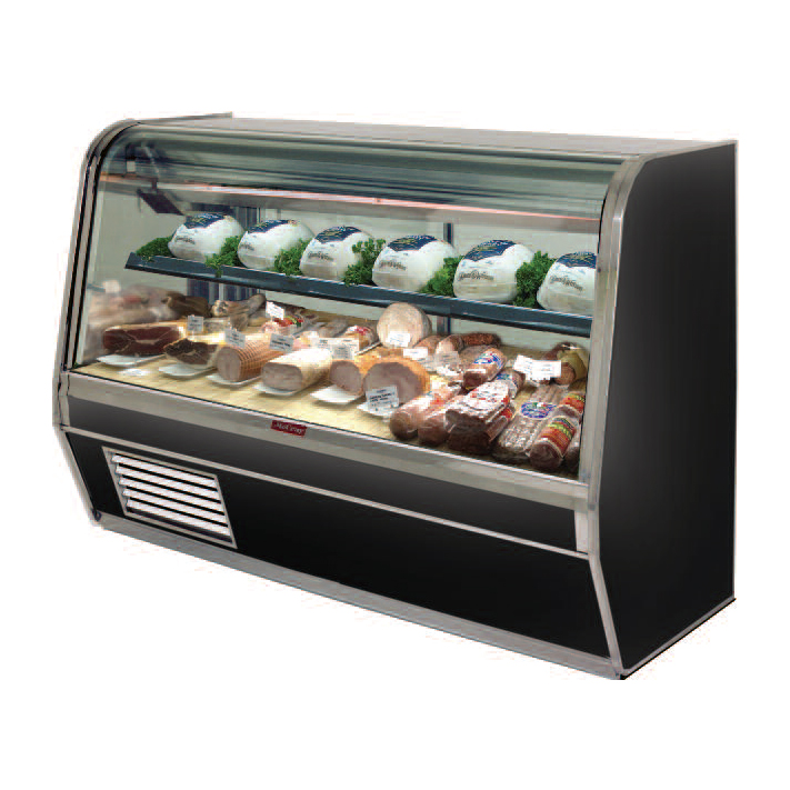 Howard-McCray SC-CDS32E-4C-LED display case, refrigerated deli