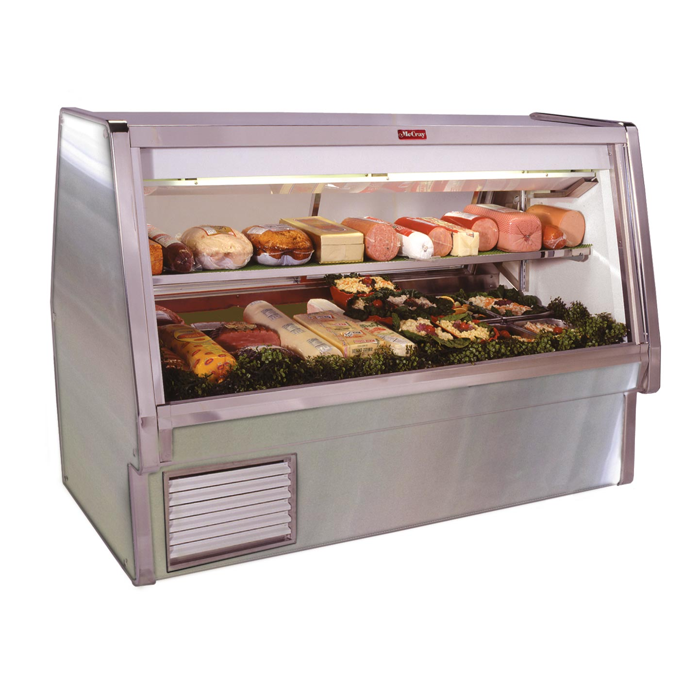 Howard-McCray SC-CDS34E-10-S-LED display case, refrigerated deli
