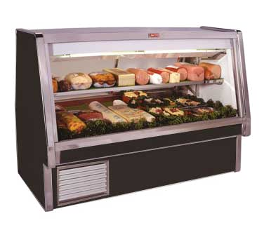 Howard-McCray SC-CDS34E-8-BE-LED display case, refrigerated deli