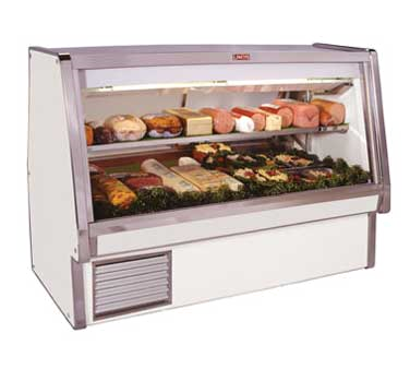 Howard-McCray SC-CDS34E-8-LED display case, refrigerated deli
