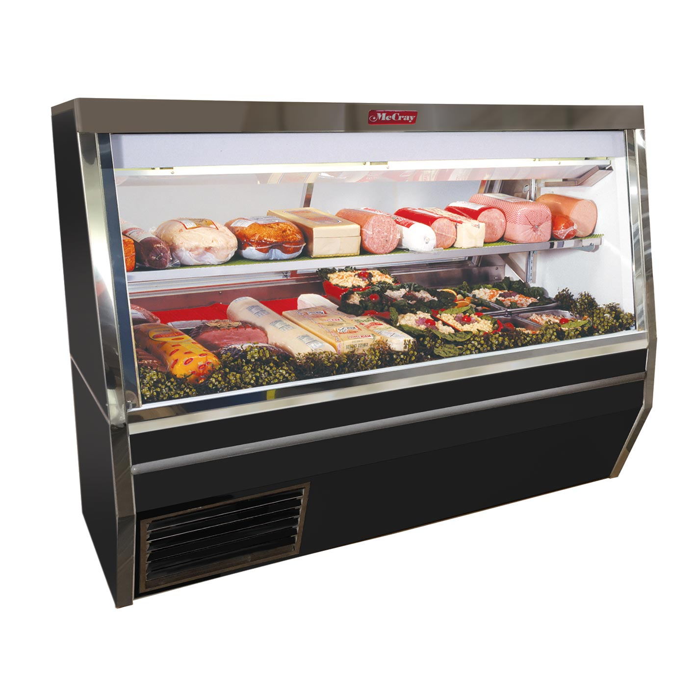 Howard-McCray SC-CDS34N-4-BE-LED display case, refrigerated deli