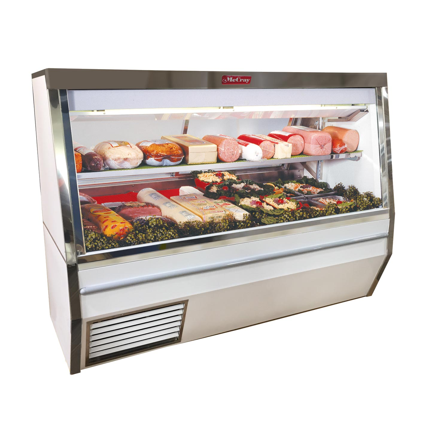 Howard-McCray SC-CDS34N-4-LS-LED display case, refrigerated deli