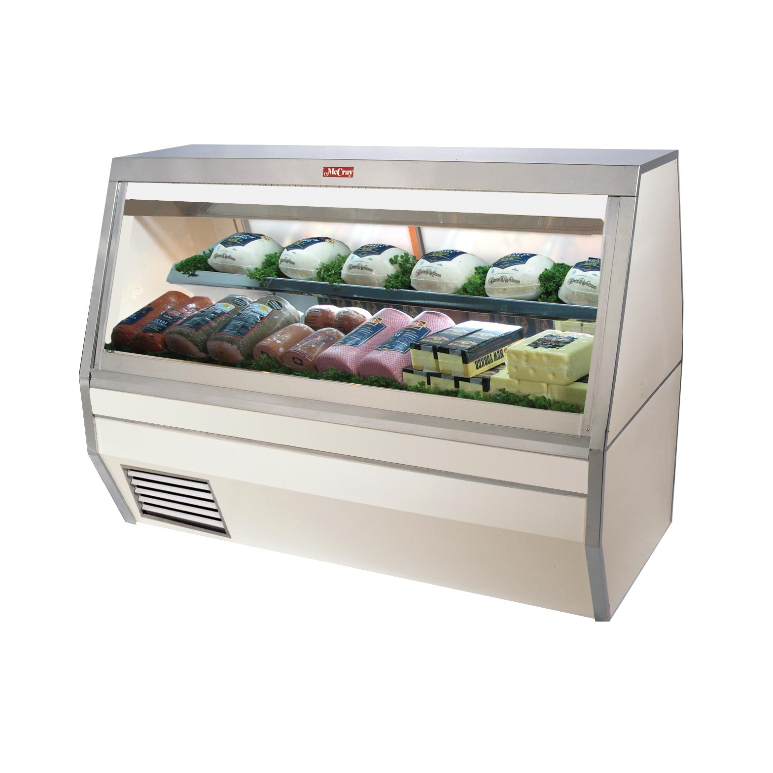 SC-CDS35-4L-BE-LED Howard-McCray display case, refrigerated deli