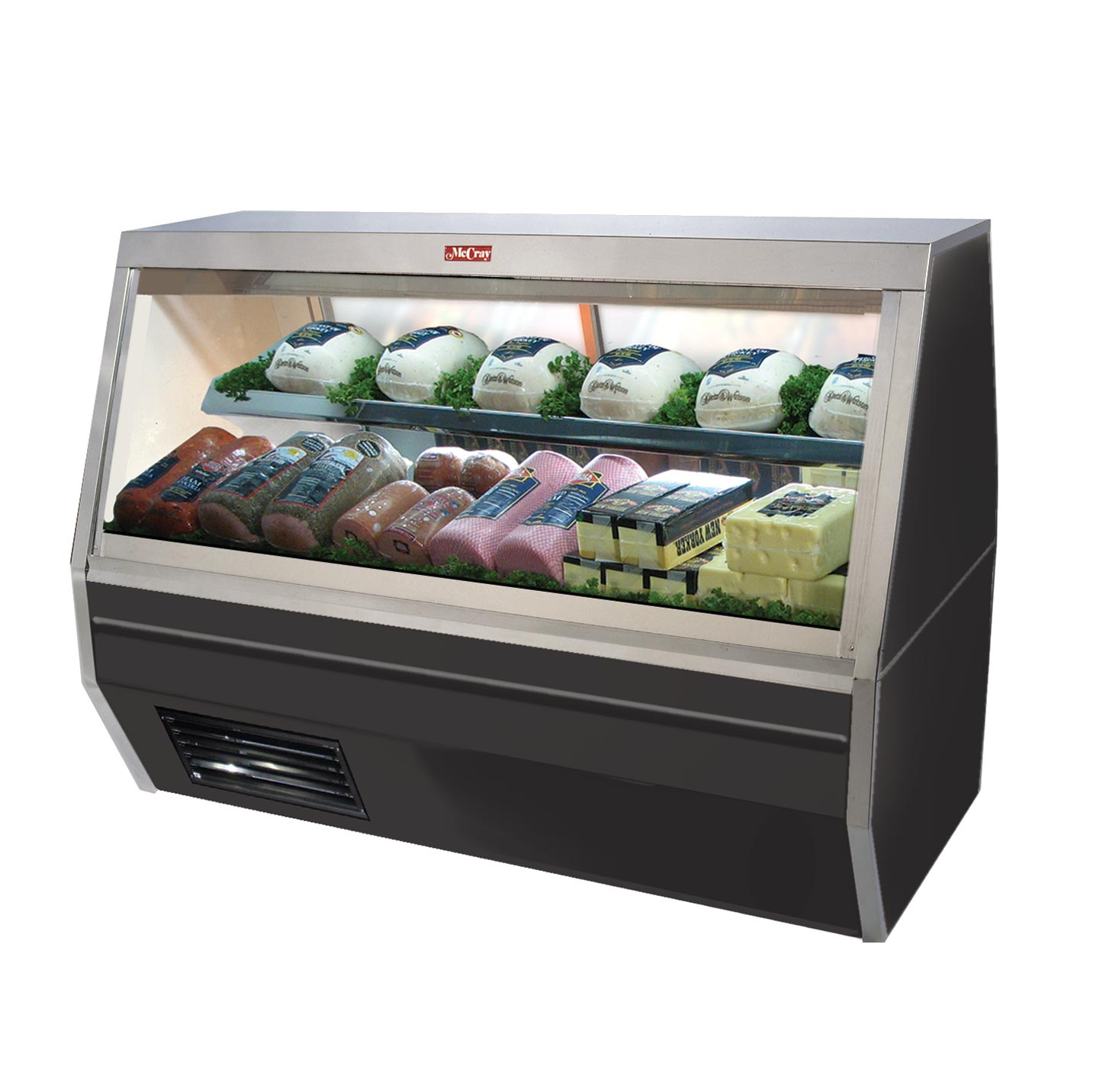 Howard-McCray SC-CDS35-8-BE-LED display case, refrigerated deli