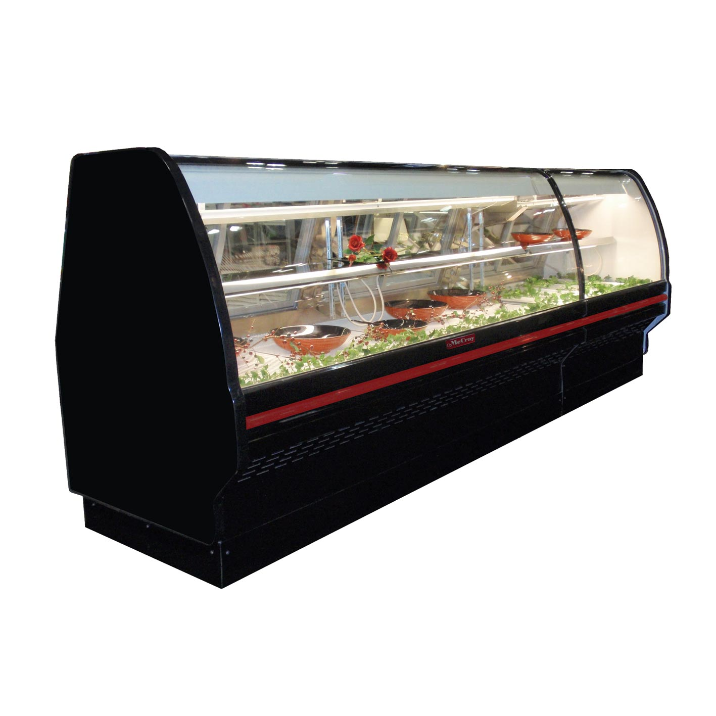 Howard-McCray SC-CDS40E-4C-BE-LED display case, refrigerated deli