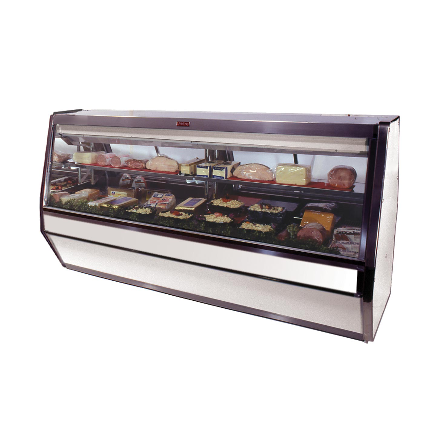 Howard-McCray SC-CDS40E-4-S-LED display case, refrigerated deli