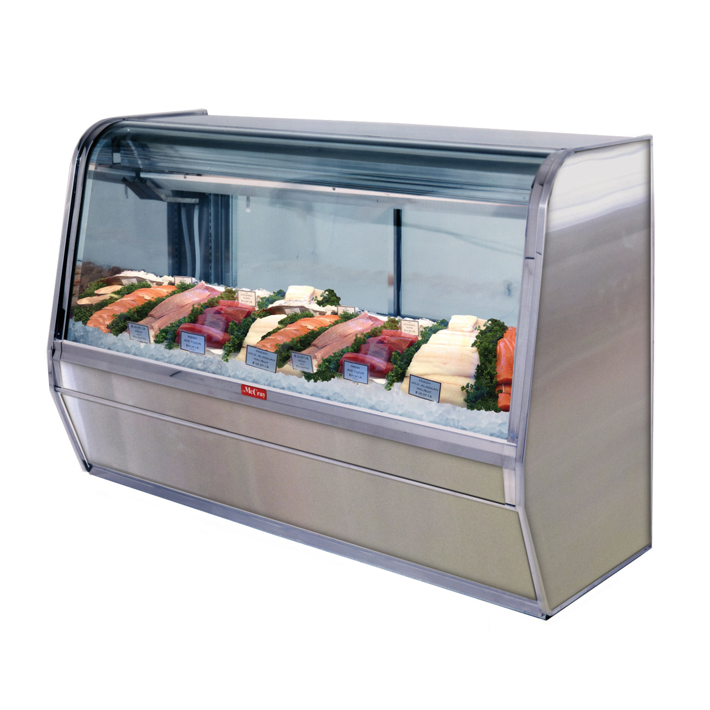 Howard-McCray SC-CFS32E-4C-S-LED display case, deli seafood / poultry
