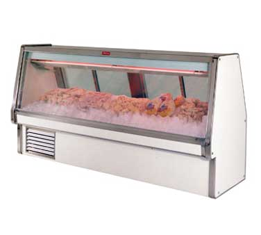 Howard-McCray SC-CFS34E-12-S-LED display case, deli seafood / poultry