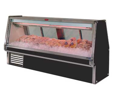 Howard-McCray SC-CFS34E-6-BE-LED display case, deli seafood / poultry