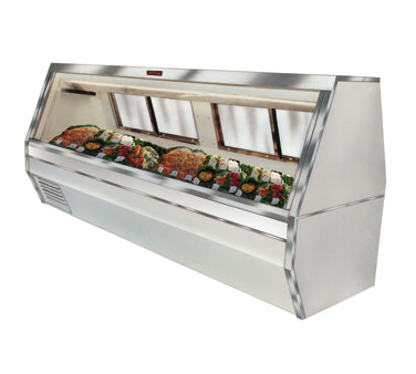 Howard-McCray SC-CFS35-8-S-LED display case, deli seafood / poultry