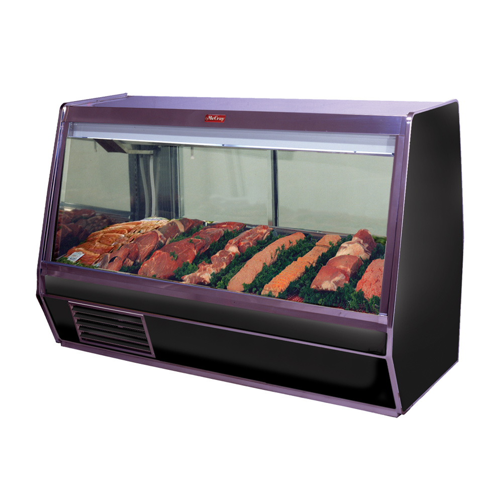 Howard-McCray SC-CMS32E-8-BE-LED display case, red meat deli