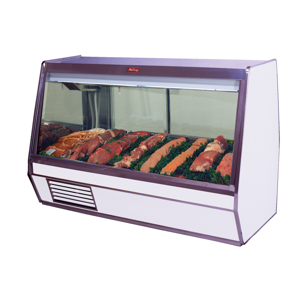 Howard-McCray SC-CMS32E-8-LED display case, red meat deli