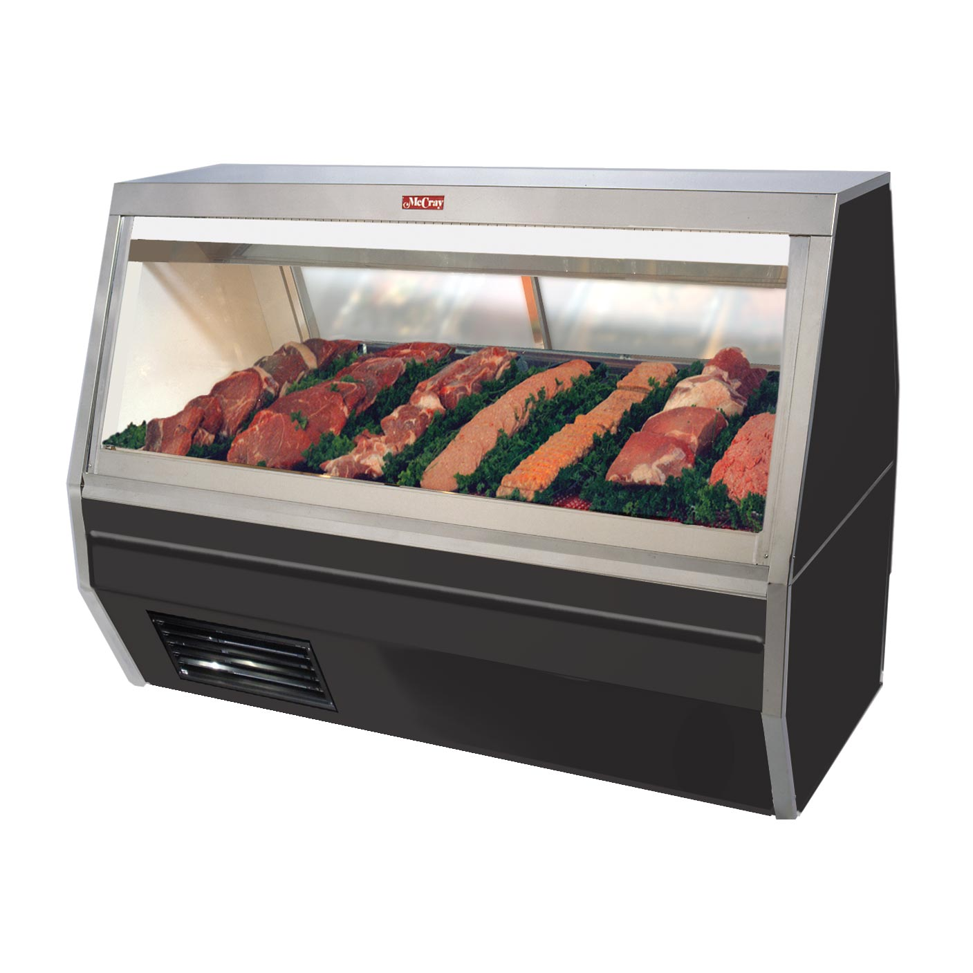 Howard-McCray SC-CMS35-6-BE-LED display case, red meat deli