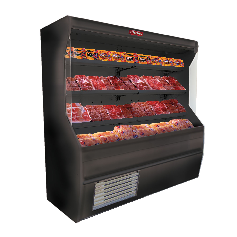 Howard-McCray SC-M32E-3-B-LED merchandiser, open refrigerated display