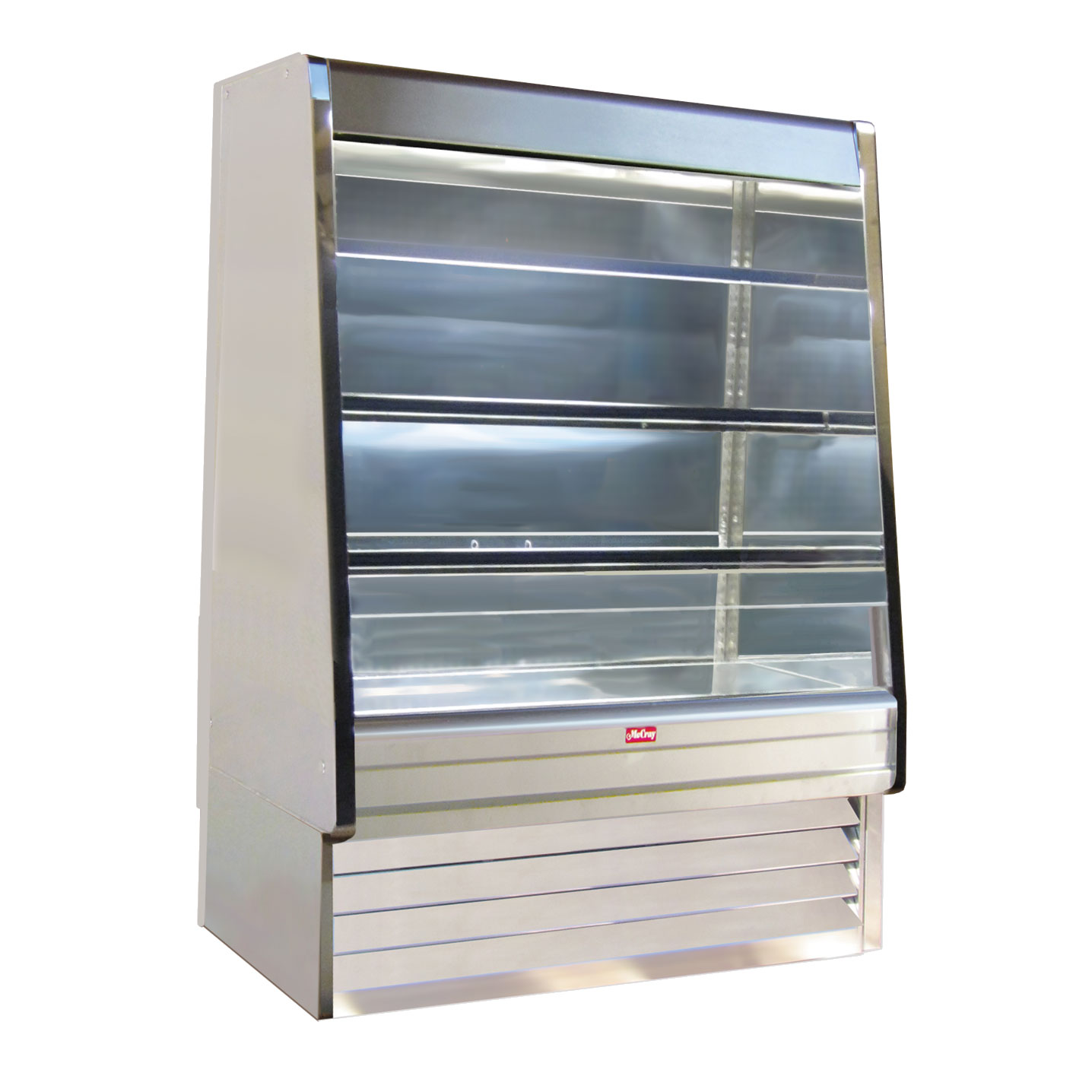 Howard-McCray SC-OD30E-3-S-LED merchandiser, open refrigerated display